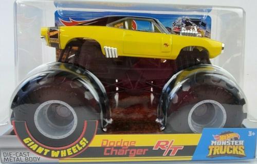 Hot Wheels Monster Trucks Dodge Charger R/T 1:24