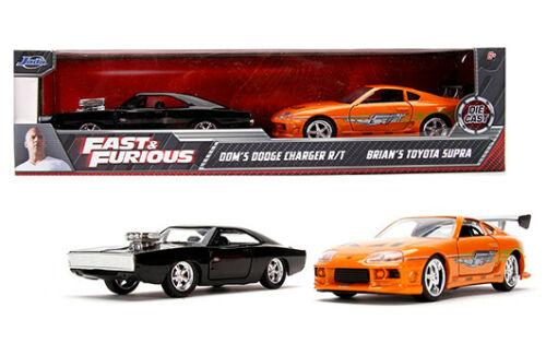 DODGE CHARGER R/T & TOYOTA SUPRA FAST & FURIOUS 2 PACK 1/32
