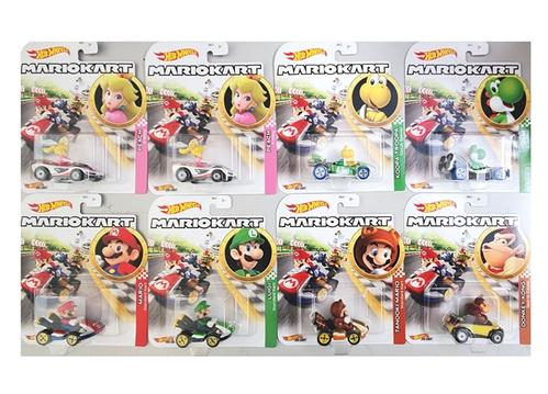 Hot Wheels 1/64 Character Cars - Mario Kart Assortment G