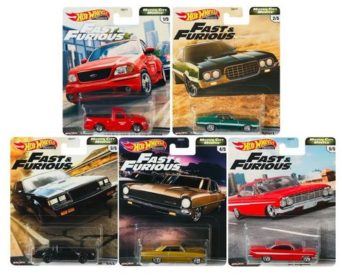 Hot Wheels 1/64 2020 Fast & Furious V8 Premium