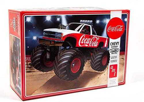 Chevrolet Silverado 1988 Monster Truck - Coca-Cola Model Kit