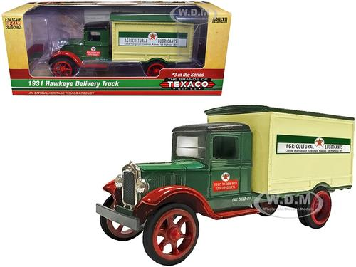 1931 Hawkeye Texaco Delivery Truck Agricultural Lubricants