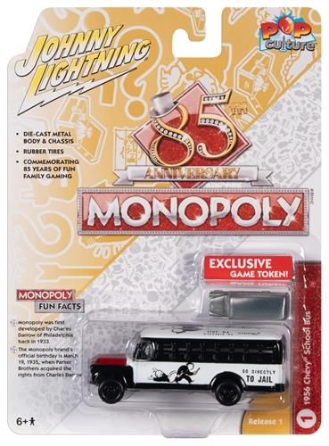 Chevrolet School Bus & Token Monopoly