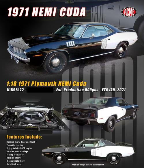 Plymouth Cuda 1971 (Winter 2021)