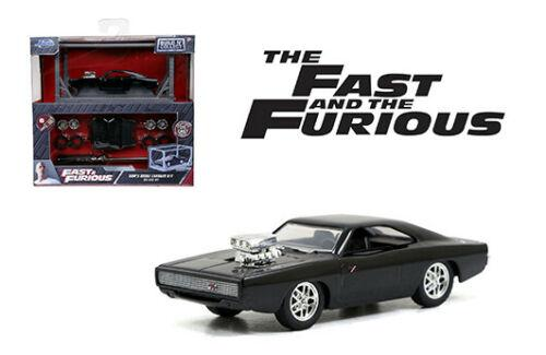 JADA 1:55 FAST & FURIOUS BUILD N COLLECT DODGE CHARGER R/T