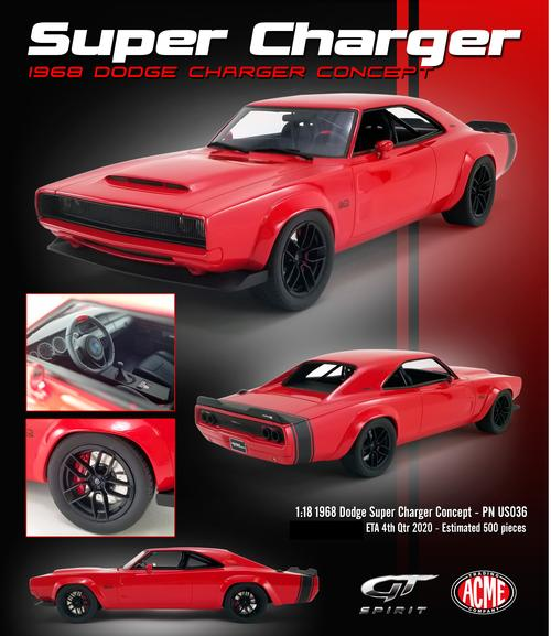 Dodge Super Charger Concept 1968 (December)