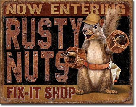Rusty Nuts Fix It Shop