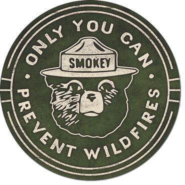 Smokey Bear Round