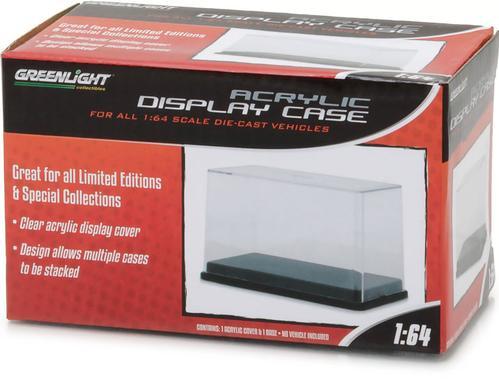 1:64 Acrylic Case with Plastic Base