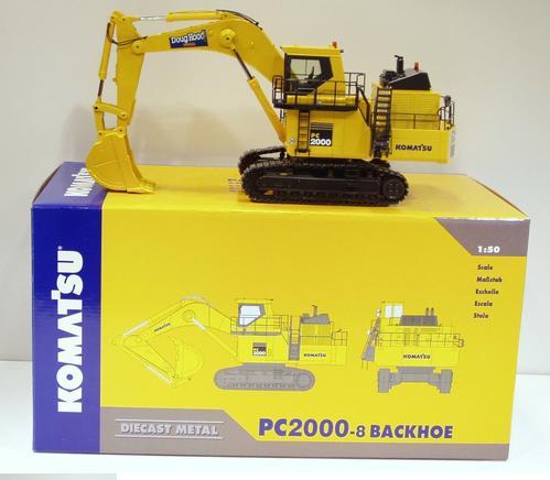 Komatsu PC2000-8 Backhoe