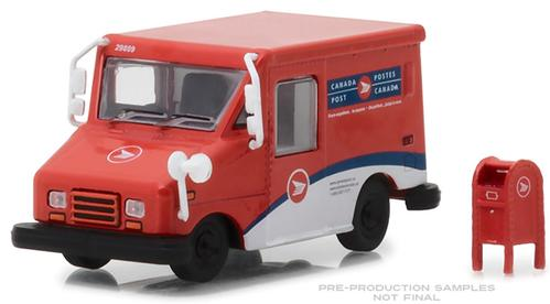 Canada Post Long-Life Postal Delivery Vehicle (LLV) with Mailbox