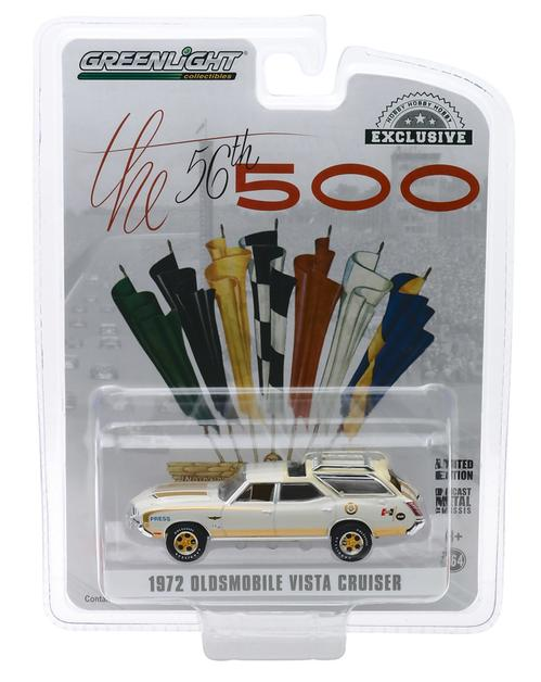 1972 Oldsmobile Vista Cruiser - 56th Annual Indianapolis 500 Mile Race Offiicial Press Car