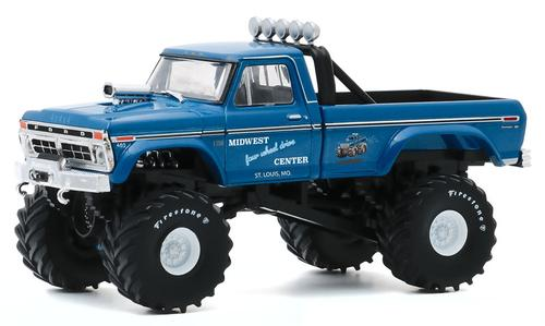 Midwest Four Wheel Drive & Performance Center - 1974 Ford F-250 Monster Truck with 48-Inch Tires