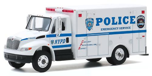 New York City Police Department (NYPD) Emergency Service 2013 International Durastar H.D. Trucks Series 19