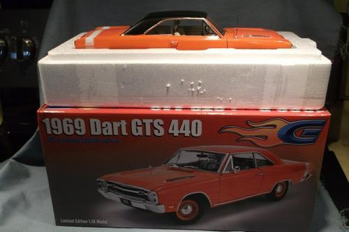Dodge Dart GTS 440 1969 (White interior and vinyl top) (Sept 30)