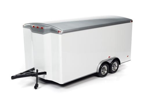 1:18 Tandom Axle Enclosed Trailer (oct 30)