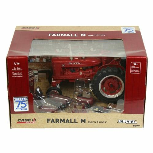 Farmall M Dusty Tractor & Accesories 75th Anniversary
