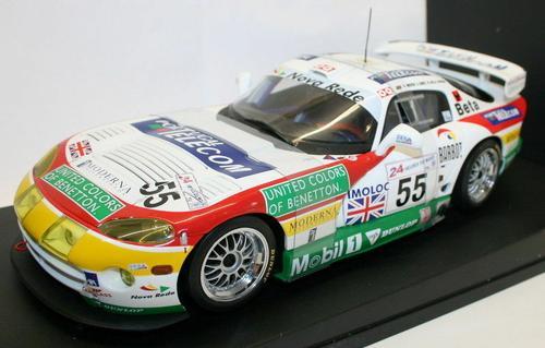 Dodge Viper GTS-R 1998 Le Mans Amorin/Gomes/Mellow #55