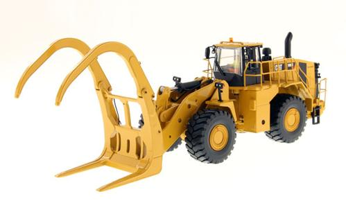 Caterpillar 988K Wheel Loader with Log Grapple - High Line Series