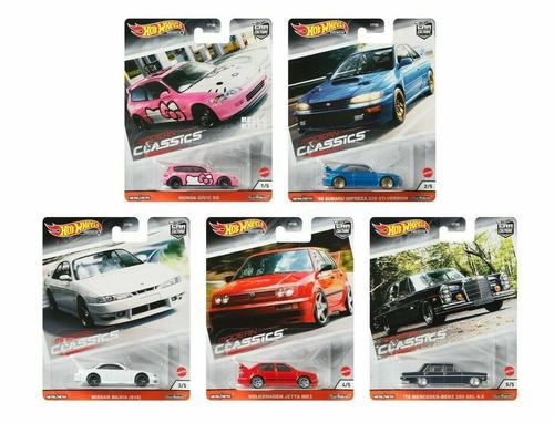 Hot Wheels 2020 CAR CULTURE MODERN CLASSICS CASE S SET OF 5 1/64 (Oct 26)