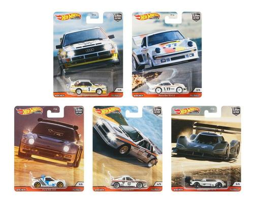 Hot Wheels 2020 Car Culture Thrill Climbers Set of 5 1/64