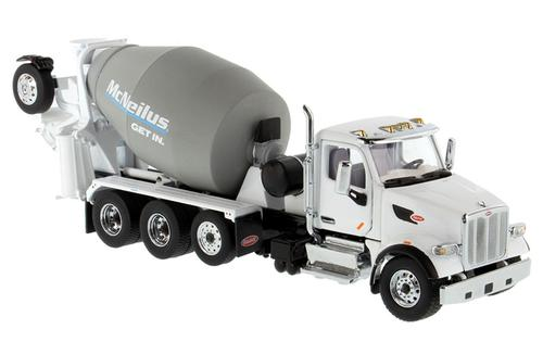 Peterbilt 567 Cab with McNeilus Bridgemaster Concrete Mixer (Oct 26)