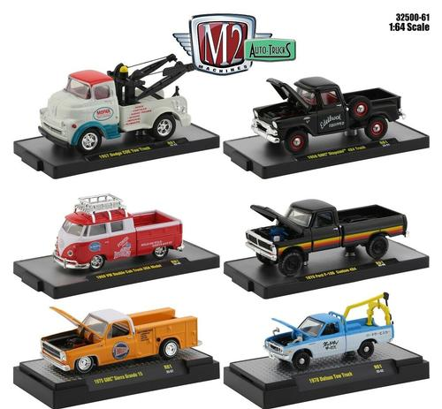 Set M2 Auto-Truck Release 61 (Set of 6)