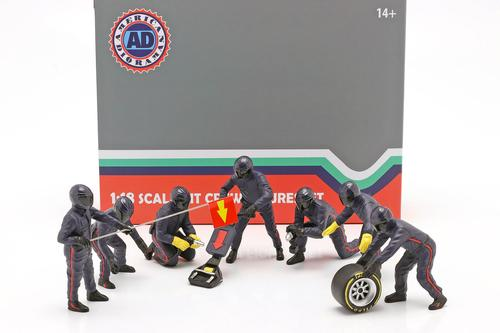 1:18 American Diorama Pit Crew set
