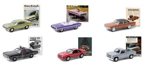 Vintage Ad Cars Series 3 1/64 Set