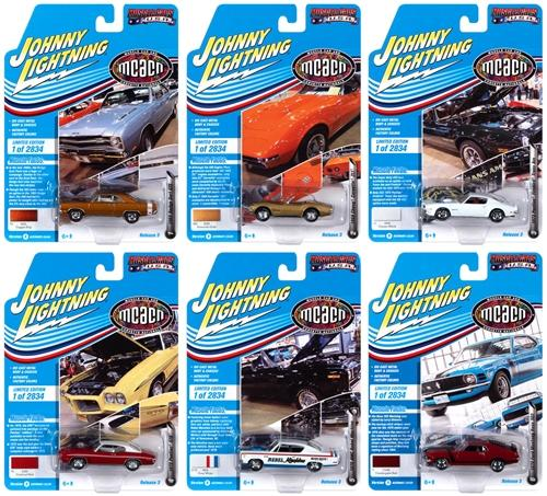 Johnny Lightning Muscle Cars USA 2020 Release 3 Set B SET