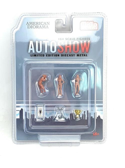 Auto Show Figures Set