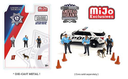 Metro Police Figures Set