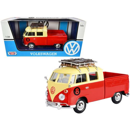 Volkswagen Type 2 (T1) #8 Pickup Truck with Roof Rack and Luggage