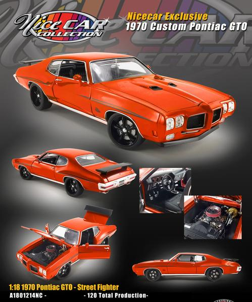Pontiac GTO 1970 Nice Car Collection Series #18 (Schedule February)