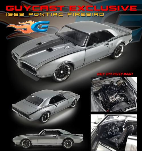 Pontiac Firebird 1968 Street Fighter (Guycast) (February)