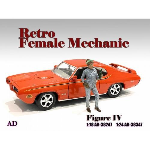 Figure 1:18 Retro Female Mechanic - IV