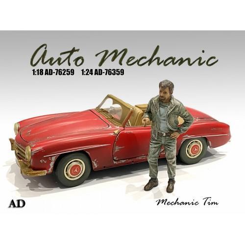 Figure 1:18 Auto Mechanic - Mechanic Tim