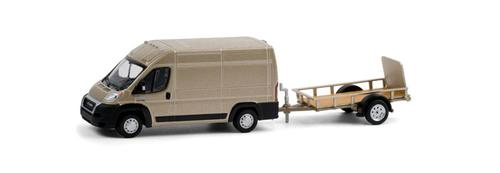 2019 Ram ProMaster 2500 & Cargo High Roof and Utility Trailer
