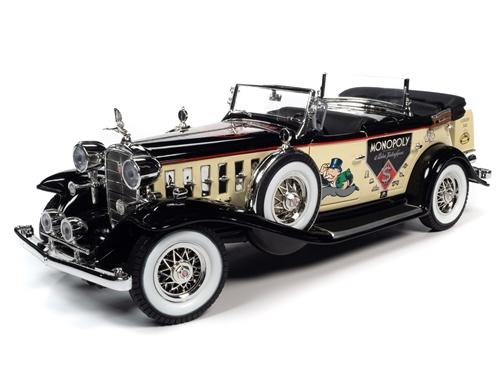 1932 Cadillac V16 Sport Phaeton Mr. Monopoly Car & Figure
