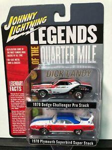 Johnny Lightning Legends Of The Quarter Mile 2-Pack LANDY/Sox&martin