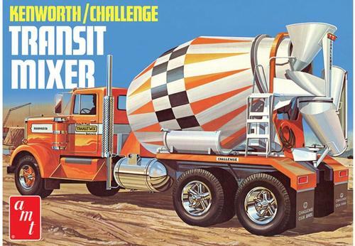 KENWORTH CHALLENGE CEMENT MIXER TRUCK kit 1:25