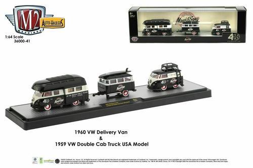Volkswagen Delivery Van 60 and Double Cab Truck