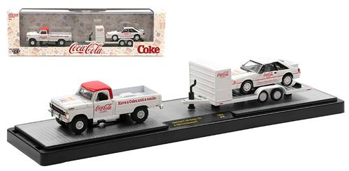 Coca-Cola - 1969 Ford F-100 Ranger 4x4 with 1990 Ford Mustang GT