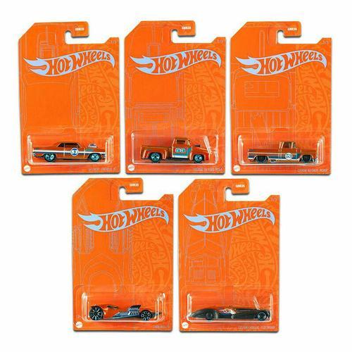 2021 Hot Wheels 1:64 Orange And Blue EMC 53Th Anniversary