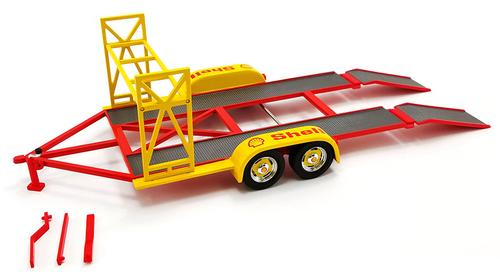 Shell Oil - Tandem Car Trailer with Tire Rack
