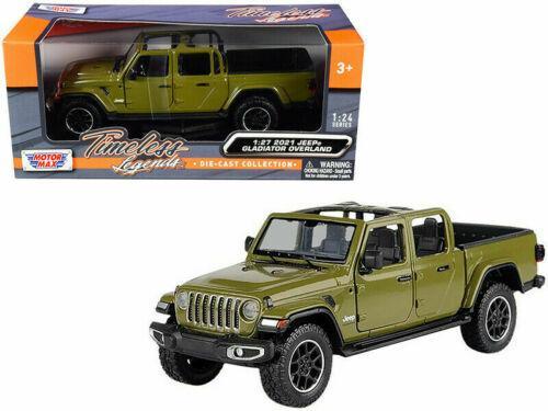 Jeep Wrangler Gladiator Overland 2021