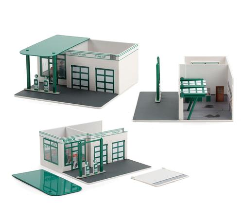 Mobico Vintage Gas Station - Christine