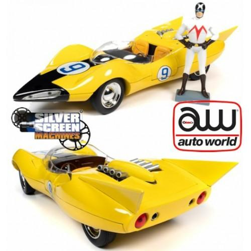 Shooting Star #9 Yellow and Racer X Figurine Speed Racer (may 14)