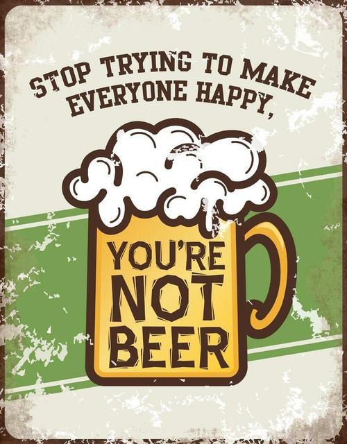 You're Not Beer