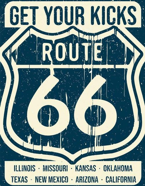Route 66 - States